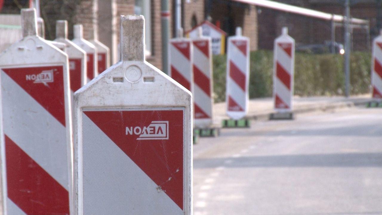 'Automobilisten negeren inrijdverbod veelvuldig tijdens werkzaamheden tussen Sevenum en Kronenberg'